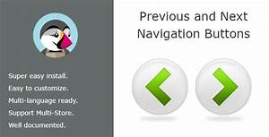 Navigation Previous Next Buttons On Product Page By