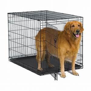 New, World, 42, U0026quot, Folding, Metal, Dog, Crate, Includes, Leak