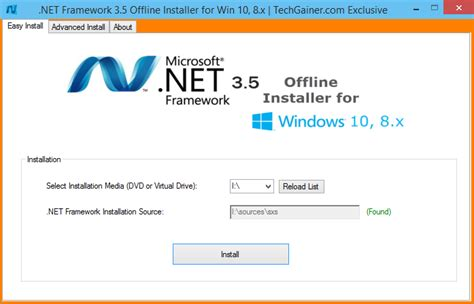 .net Framework 3.5 Offline Installer Download