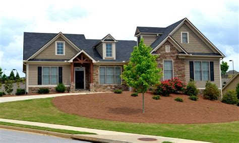 Craftsman Style Ranch House Plans Exterior Ranch Craftsman