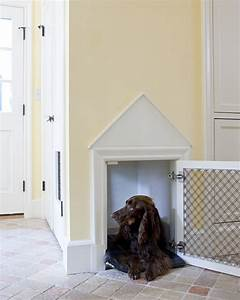 stylish built in dog beds and kennels driven by decor With stylish dog kennels