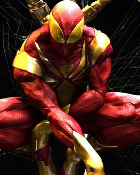 Spiderman Civil War Suit Fan Art  Iron Spider — Geektyrant