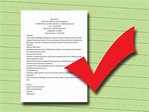 3 Easy Ways To Write A College Resume With Pictures