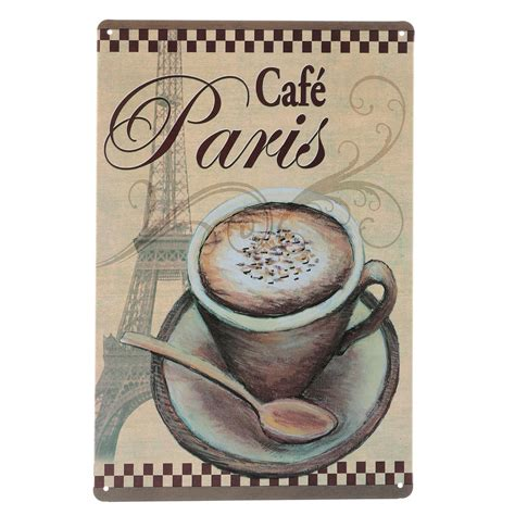 17 amazing coffee posters that will rock your coffee spaces. Coffee Menu Vintage Tin Sign Bar Pub Cafe Home Wall Decor Retro Metal Art Poster | eBay
