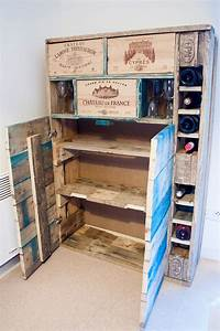 Caisse Bois Vin : meuble palettes et caisses de vin la vie du bois bordeaux ~ Carolinahurricanesstore.com Idées de Décoration
