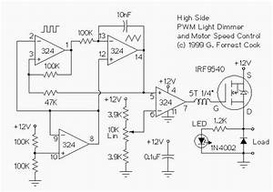 Wiring Schematic Diagram  12v Low Side And High Side Pwm
