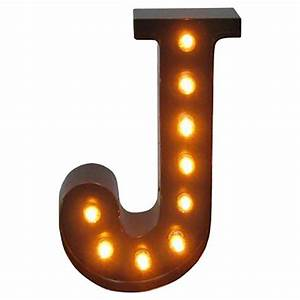 Metal Marquee Letter J - Threshold : Target