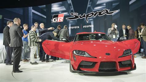 Motor Show 2019 :  Wild-styled 2020 Toyota Supra Debuts With More