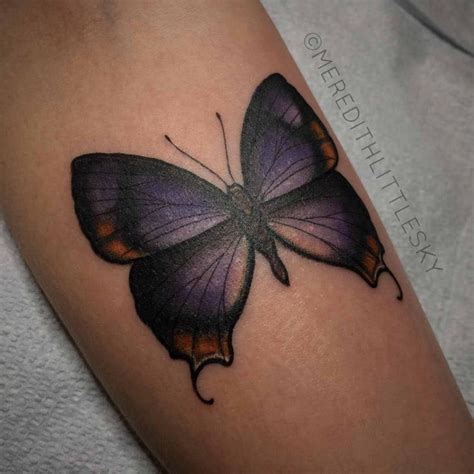 violet butterfly tattoo  tattoo ideas gallery