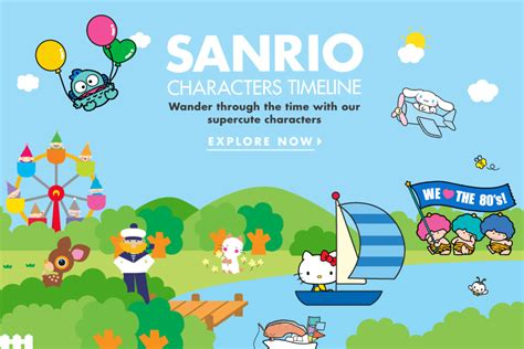 characters official home kitty friends sanrio