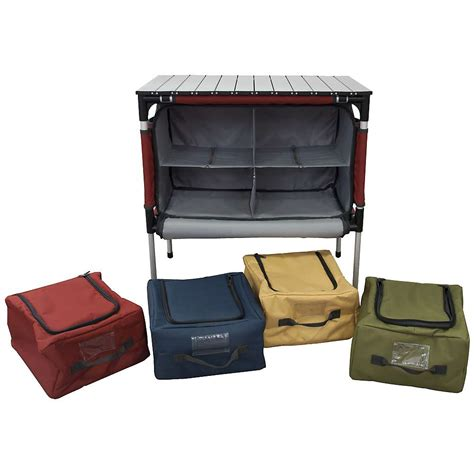 Camp Chef Sherpa Table And Camp Kitchen Organizer