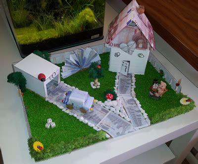 Hochzeitsgeschenk Haus Mit Garten Aus Geld Hochzeit