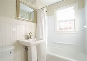 Bathroom beadboard main bath pinterest for Bead board in bathroom