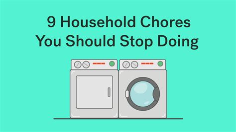 9 Household Chores You Should Stop Doing Right Now ? Life