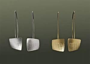 Flutter Earrings By Karen Klinefelter  Metal Earrings