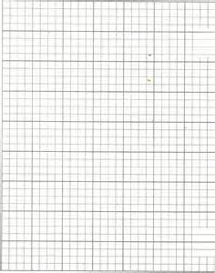 1 Inch Squares Graph Paper Printable