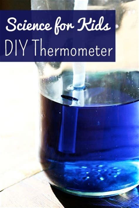 homemade thermometer  kids