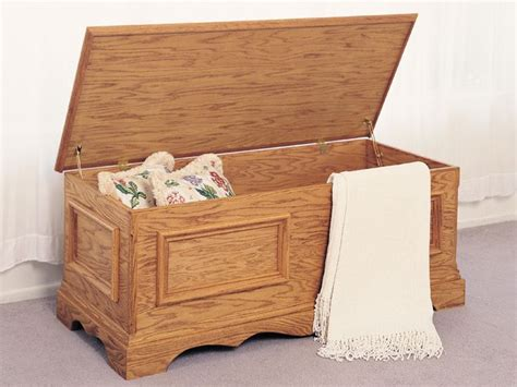 indoor furniture plans blanket chest plan