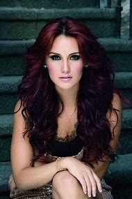 Dark Burgundy Red Hair Color
