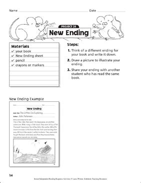 writing prompt printable skills sheets