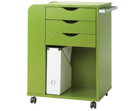 caisson de bureau ikea meuble bureau petit bureau pratique lepolyglotte