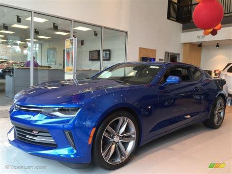 2017 Hyper Blue Metallic Chevrolet Camaro Lt Coupe
