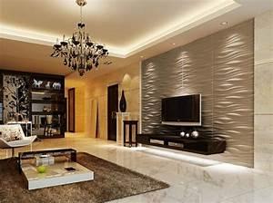 Wohnzimmer Tapeten Design : moderne tapetenmuster wohnzimmer ~ Sanjose-hotels-ca.com Haus und Dekorationen