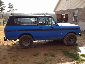 1979 International Scout Ll  345 V8 Auto With 4barrel Carb