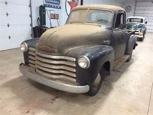 1950 Chevy 3100 Pickup 5 Window All Original  Rock Solid