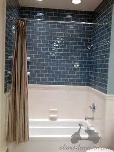 bathroom chair rail ideas 30 ideas of a bathroom with subway tile and chair rail