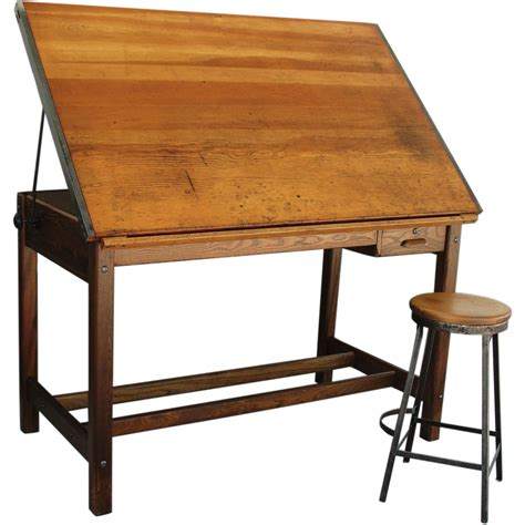 antique drafting table for sale vintage industrial hamilton drafting table kitchen island