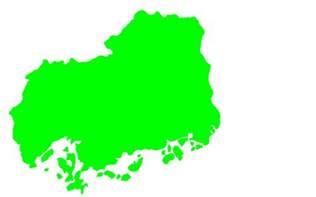 広島県:都道府県地図(広島県) - kzWeb