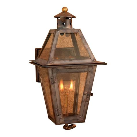 titan lighting maryville 36 in outdoor washed pewter gas