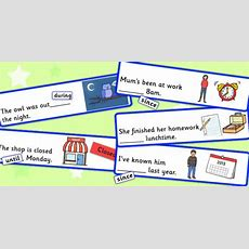 Time Prepositions Fill In The Sentence Using During, Until Or