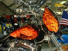 Custom Paint Job On Motorcycle
