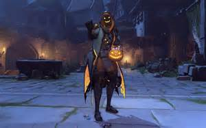Closest Pumpkin Patch by Halloween Invades Overwatch With New Skins Emotes