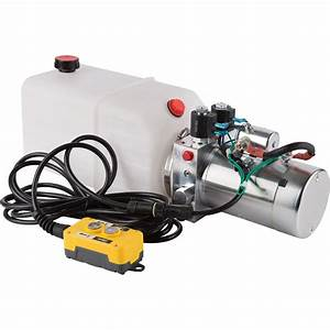 Nortrac Dump Trailer Power Unit With 12v Dc Motor  U2014 For