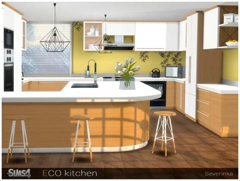 eco kitchen  sims  severinka sims  updates