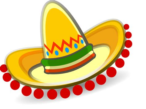 Sombrero Mexican Hat Clip Art At Clker.com