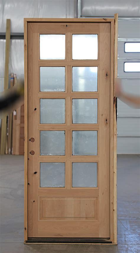 cl  rustic  lite exterior door