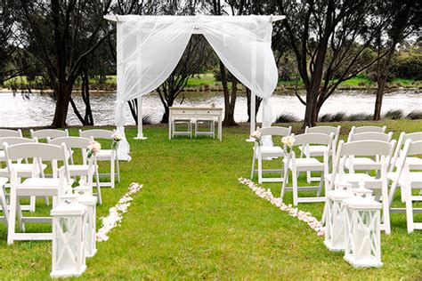 top5 most outdoor wedding ceremony for summer
