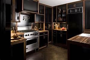 Nina, Farmer, Interiors, The, Black, Kitchen