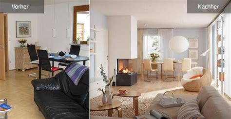Minimalismus Vorher Nachher by Dunkles Wohnzimmer Wird Einladend Und Hell Sch 214 Ner Wohnen
