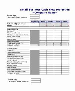 cash budget template With cash flow projection worksheet template
