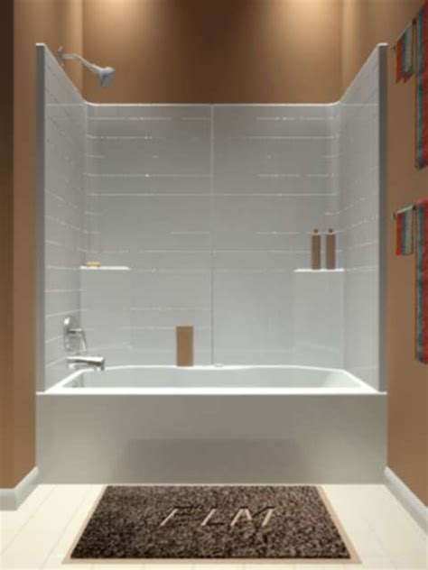 3 Tub Shower Combo by Whirlpool Tubs Air Tub Showers