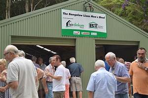 Bangalow shed open for men's business – Echonetdaily