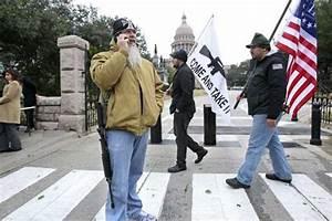 Stupid White Men Open Carry demonstration in Austin - Rack ...