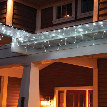 Led Lights At Walmart by Time Led Lite Lock Icicle Lights Cool