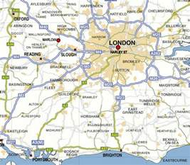 East London England Map