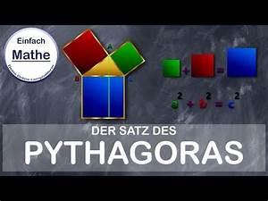 Satz Des Pythagoras A Berechnen : satz des pythagoras erkl rung und beispiel by einfach mathe youtube ~ Themetempest.com Abrechnung